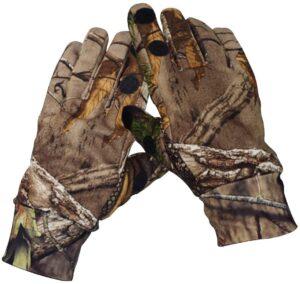 Camouflage Hunting Gloves Full Finger or Fingerless Gloves