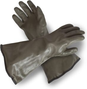 PVC Coated Decoy Hunting Gloves