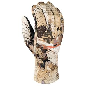 SITKA Gear Gradient Stretch Fleece Camouflage Hunting Gloves