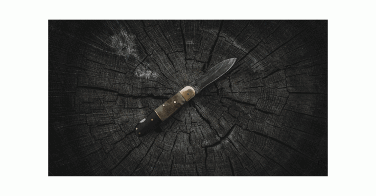 how to clean a hunting knife