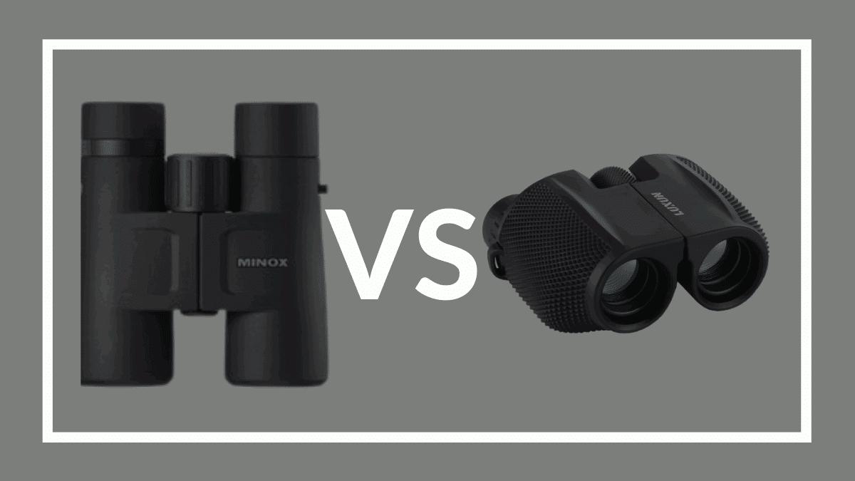 Compact vs full size binoculars